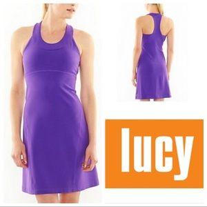 EUC Lucy Razorback Athletic Dress in Deep Purple